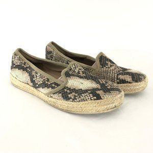 Clarks Collection Womens Shoes Slip On Espadrilles